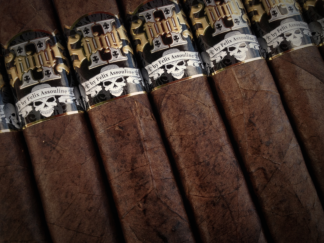 2 Saints Cigars by Felix Assouline